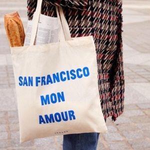 Sezane San Francisco tote